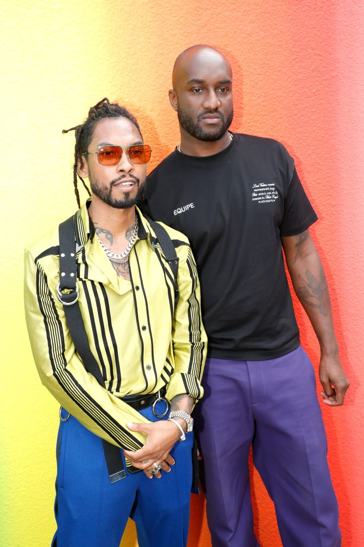 Miguel and Virgil Abloh