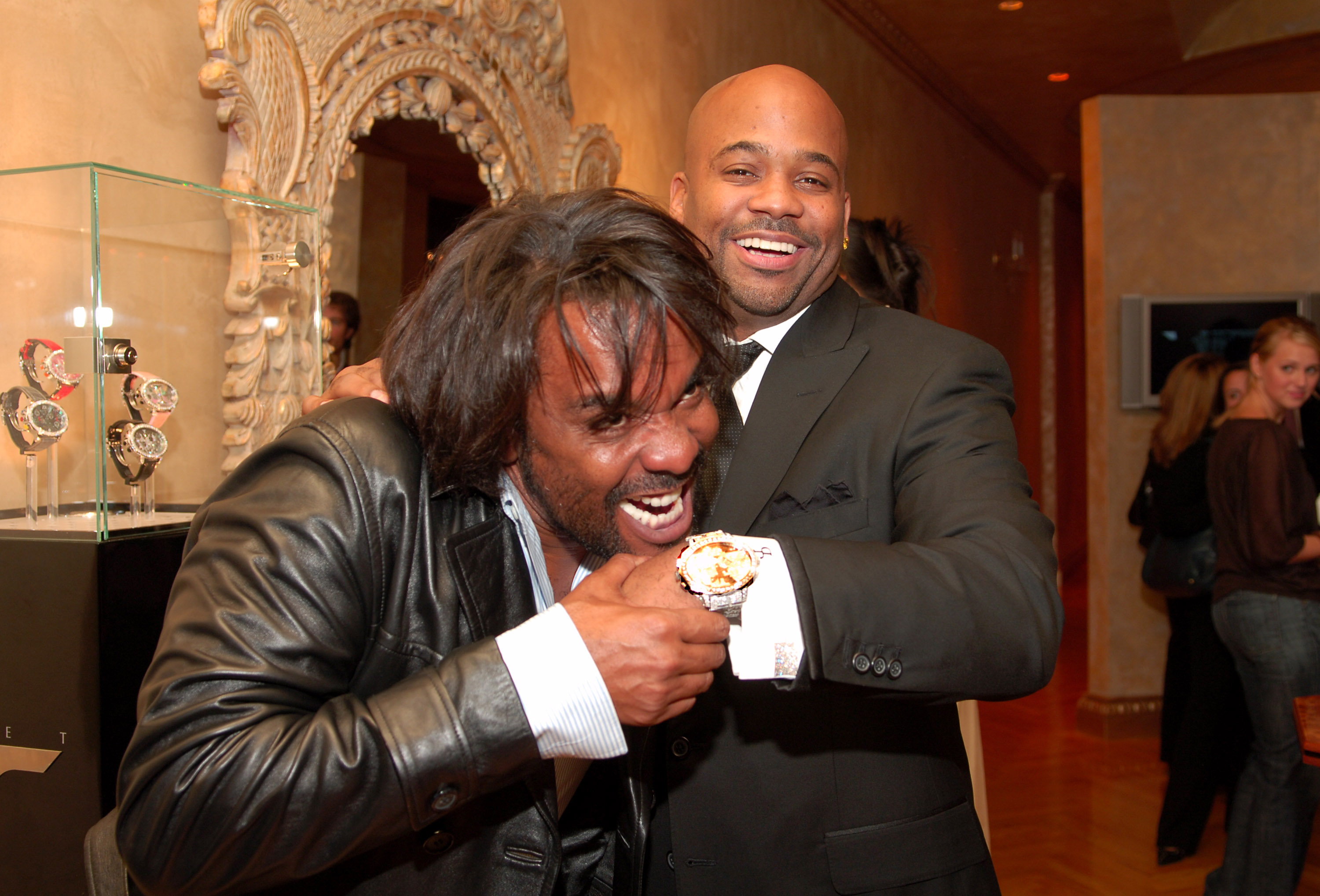Damon Dash Launch Party for Tiret - An Exclusive Luxury Watch Collection