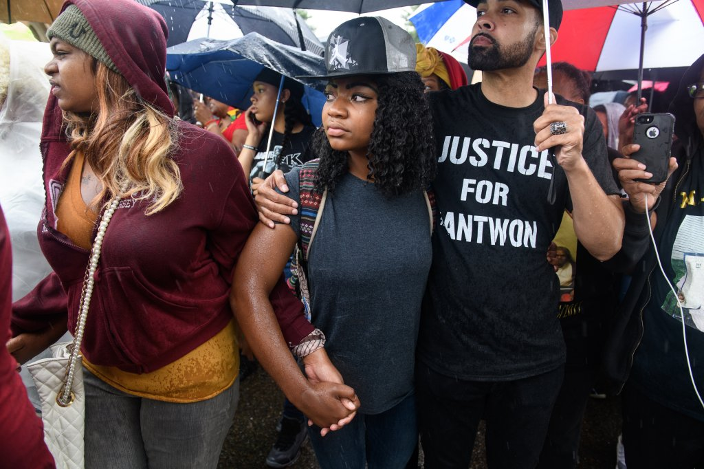 Demonstration Continue In Pittsburgh After Unarmed Black Teen Was Fatally Shot In Back By Police While Fleeing A Traffic Stop
