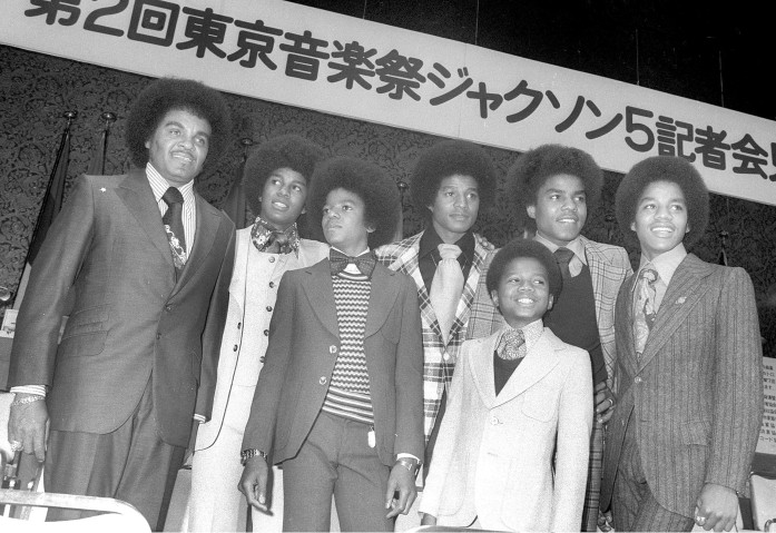 Jackson 5 Press Conference In Tokyo