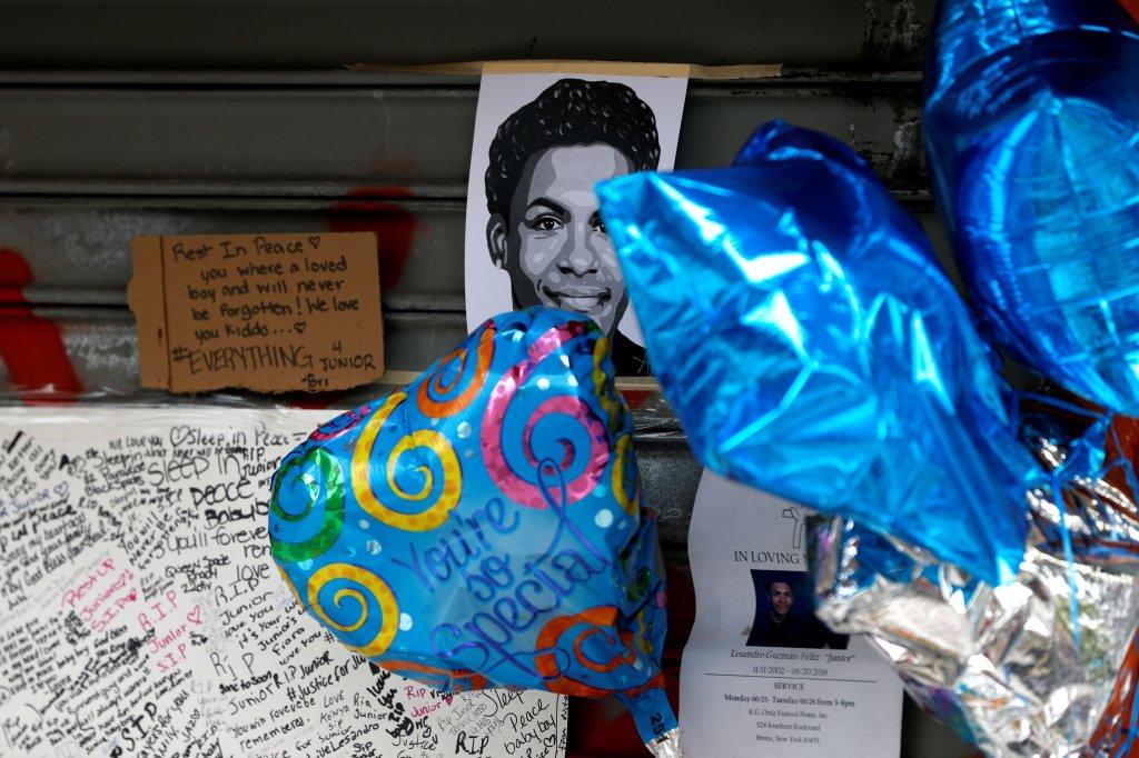 Commemoration for Lesandro Guzman-Feliz in New York