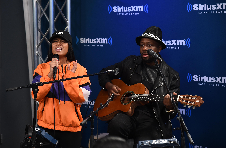 Celebrities Visit SiriusXM - February 1, 2017