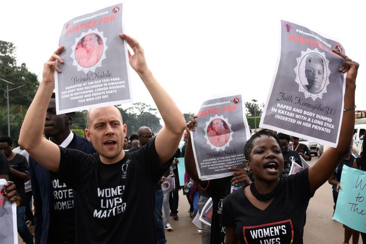 Ugandan Women's Protest