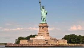 Statue of Liberty, Liberty Island, Manhattan, New York City, New York, USA