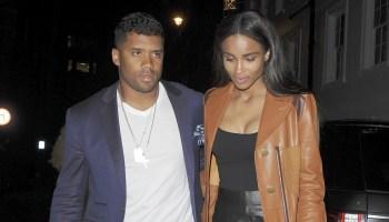 Ciara and Russell Wilson seen at Soho House