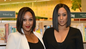 Tia And Tamera Mowry Sign And Discuss Their New Book 'Twintuition'