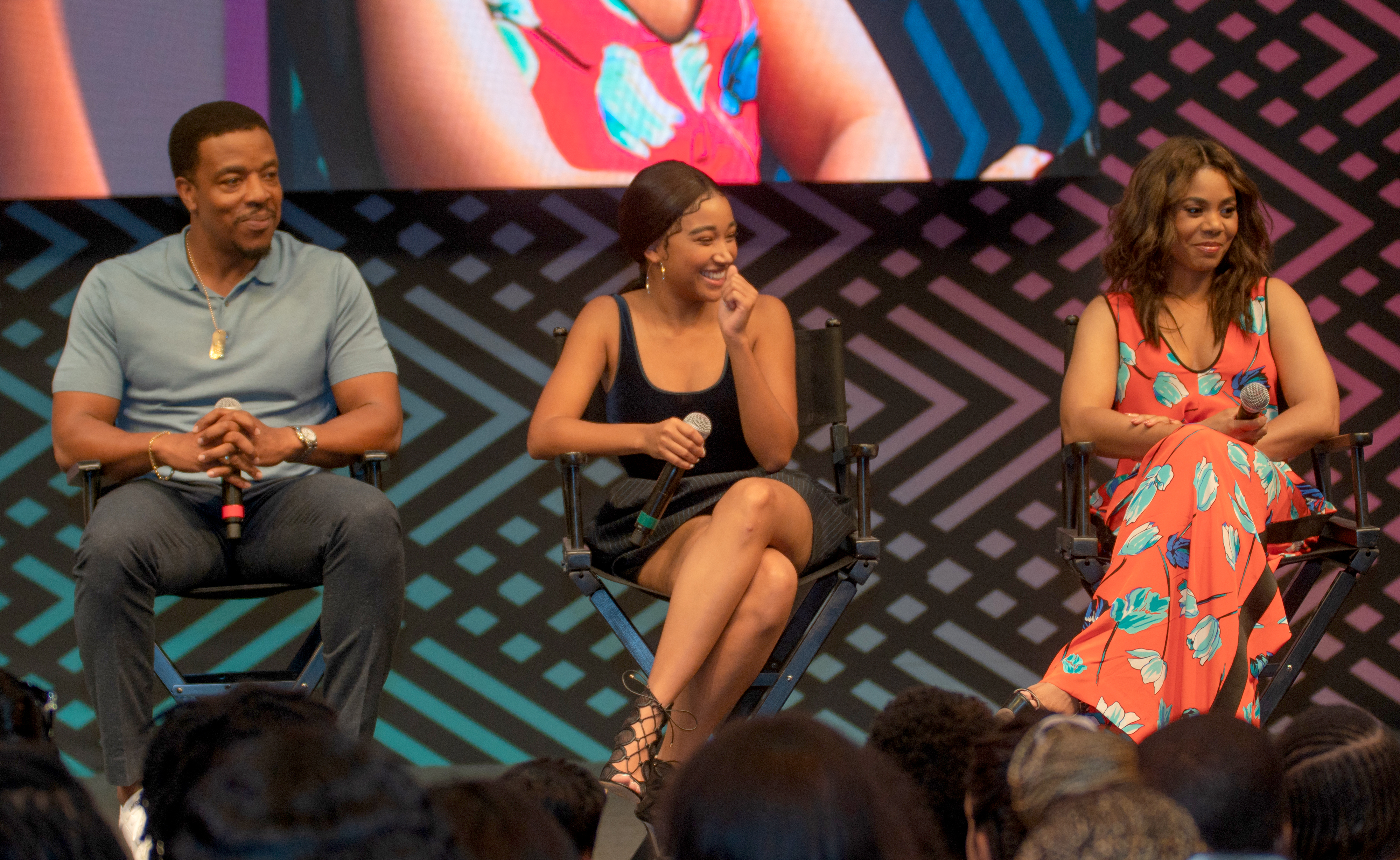 'The Hate U Give' Movie Cast And Filmmakers At Essence Festival 2018