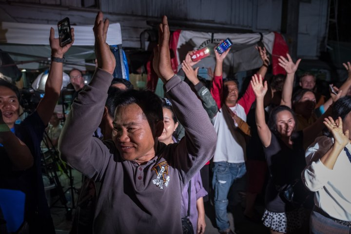 Thailand Cave Rescue For Trapped Soccer Team