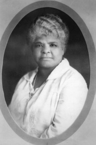 Ida Wells-Barnett, born a slave, she became a school teacher after abolition, 19th century, New York, Schomburg Center.