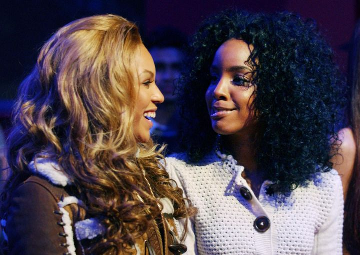 Beyonce Knowles and Kelly Rowland