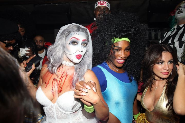 Lala Anthony and Serena Williams