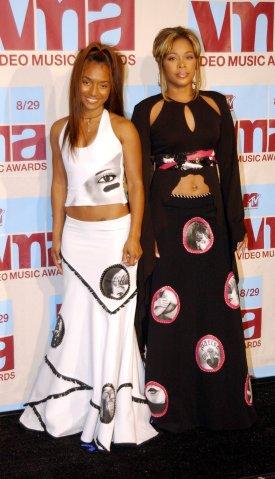 MTV Awards - Chilli & T-Boz