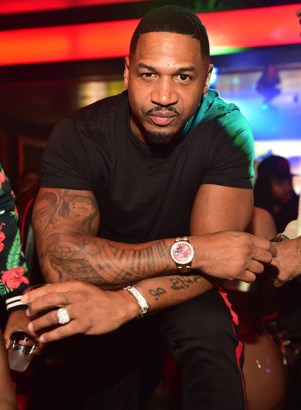 Roger Bonds Birthday Celebration Hosted By Stevie J