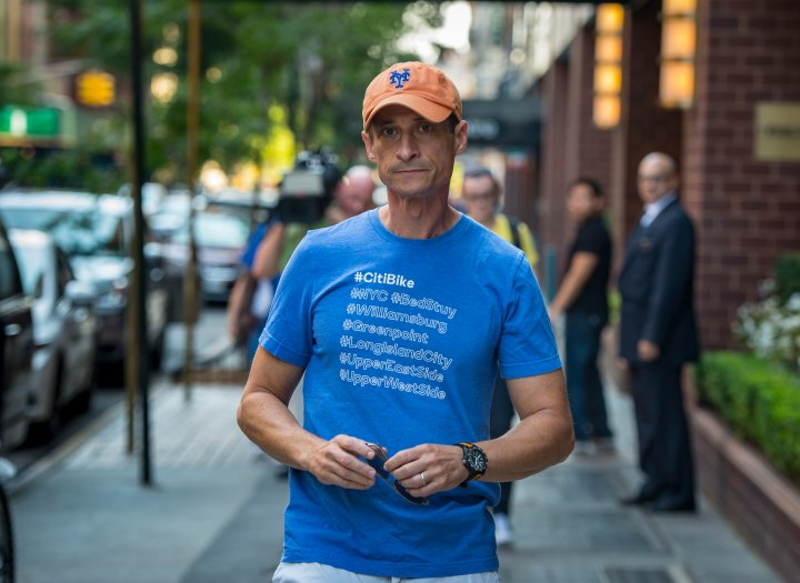 Anthony Weiner is in a category all his own. He snapped and released his own.
