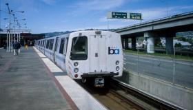 MacArthur BART Station in Oakland