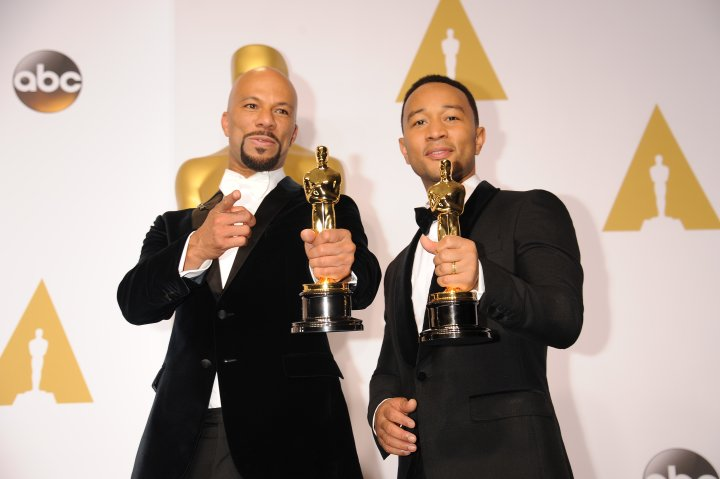 Top Black Pop Culture Moments of 2015: Common and John Legend at the Oscars