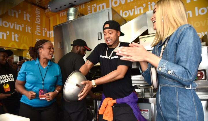 McDonald's At Made In America Festival In Philadelphia