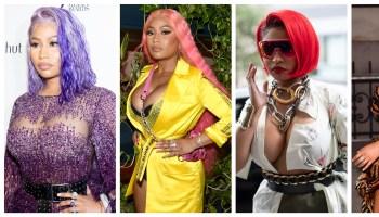 Nicki Minaj NYFW Hairstyles