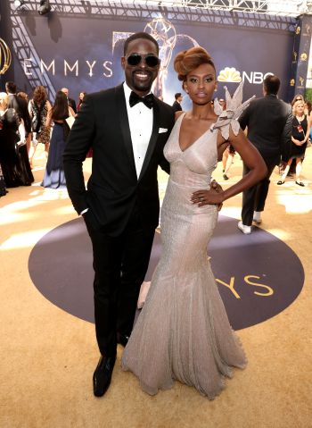 Sterling K. Brown and Ryan Michelle Bathe