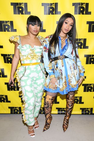 Celebrities Visit MTV TRL - April 10, 2018