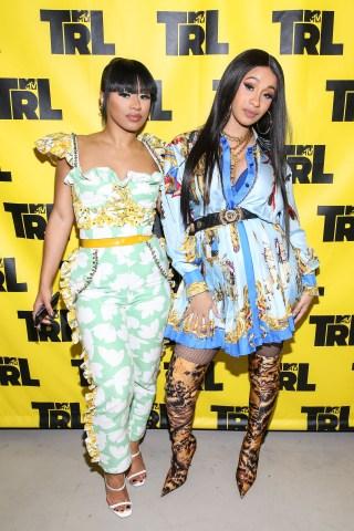 Celebrities Visit MTV TRL - April 10, 2018