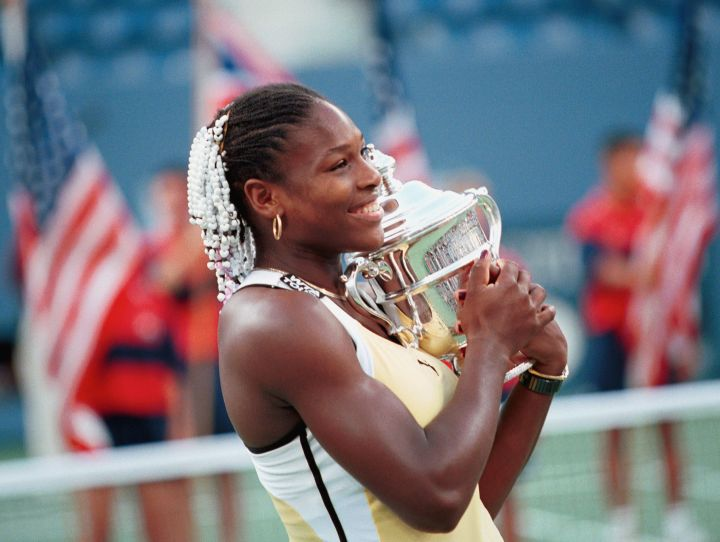 SERENA WILLIAMS WINS US OPEN 1999