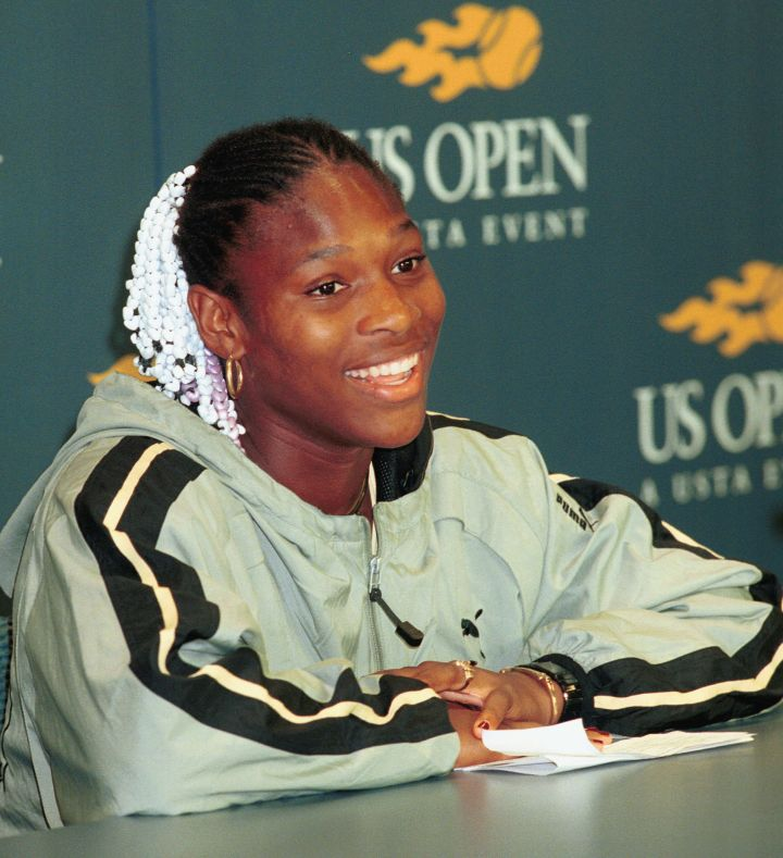 SERENA WILLIAMS WINS US OPEN 1999.