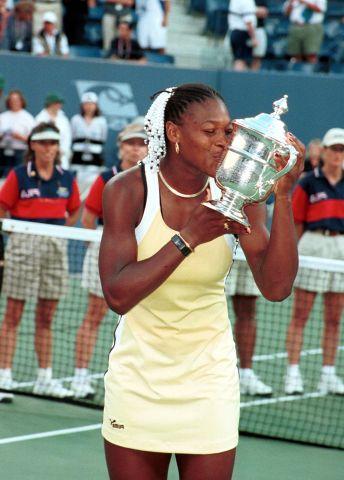 SERENA WILLIAMS WINS US OPEN 1999