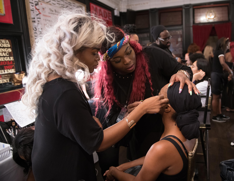 Harlem's Fashion Row - Backstage - September 2018 - New York Fashion Week