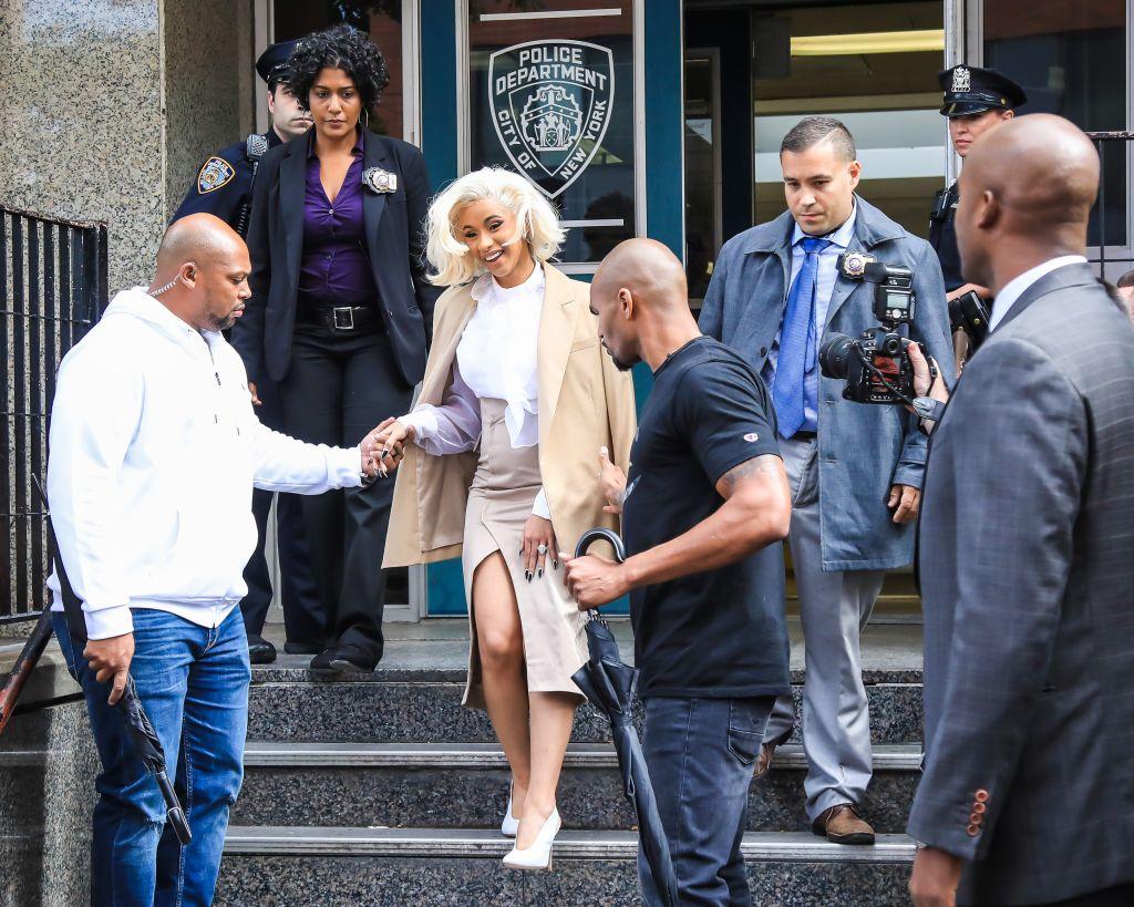 Celebrity Sightings in New York City - October 1, 2018