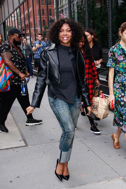 Celebrity Sightings In New York - September 24, 2018