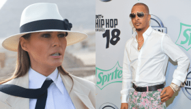 Melania Trump T.I. collage