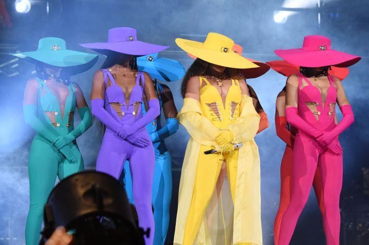 Beyonce In Versace
