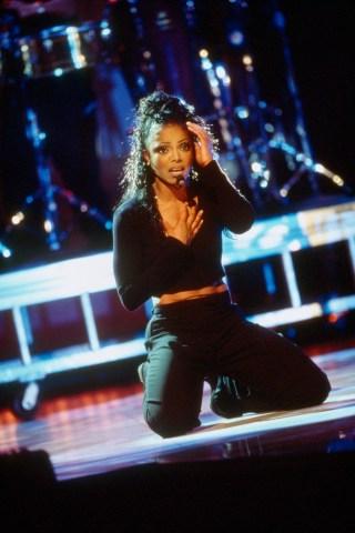 American Singer Janet Jackson