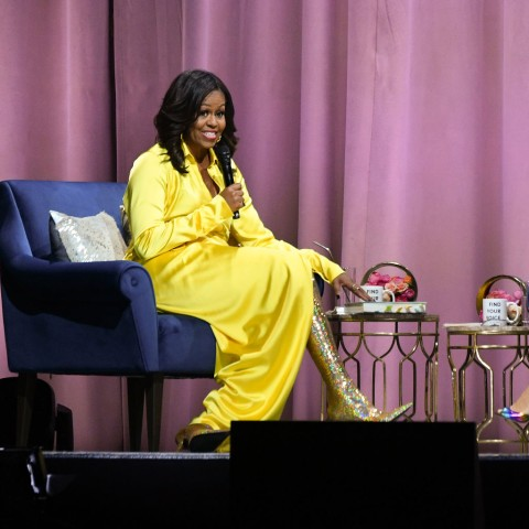 Michelle Obama Discusses Her New Book 'Becoming' With Sarah Jessica Parker