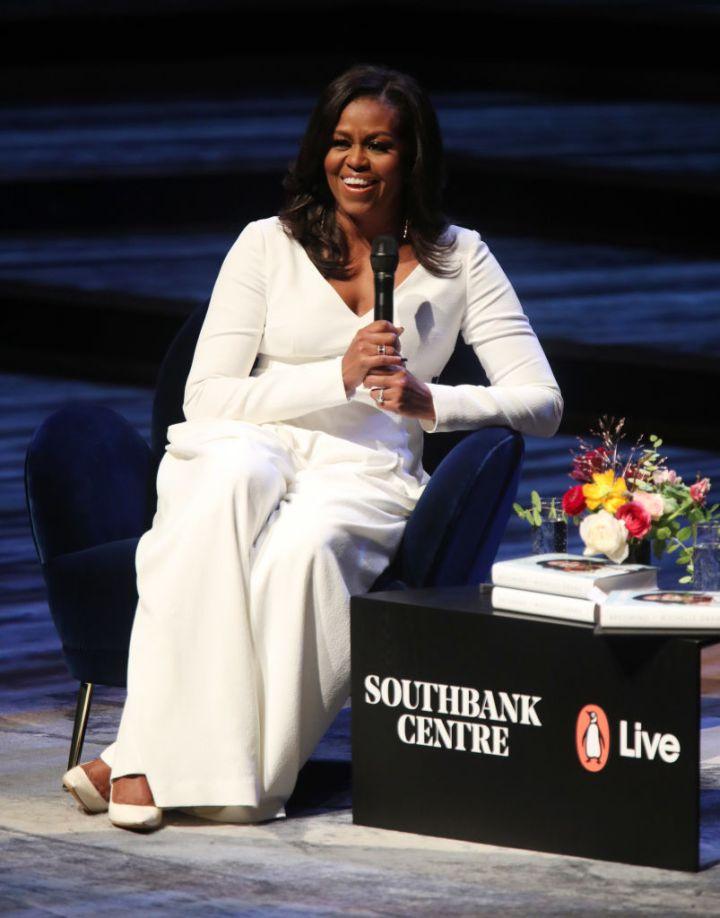 Michelle Obama visits UK