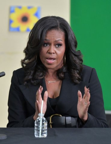 Michelle Obama Visits Boston-Area Community Center