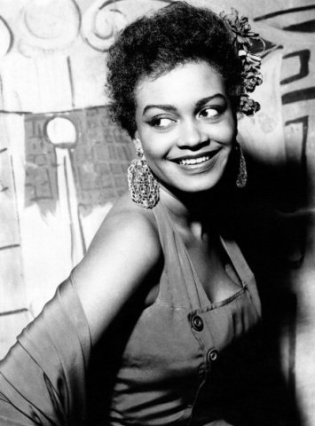 Ethel Ayler posing