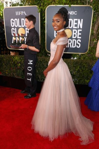 Moet & Chandon At The 76th Annual Golden Globe Awards - Red Carpet