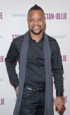 Cuba Gooding Jr. attends the 'Stan & Ollie' New York...