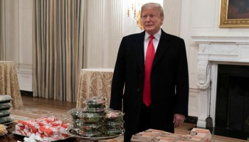 President Trump Hosts College Football Champion Clemson Tigers At White House