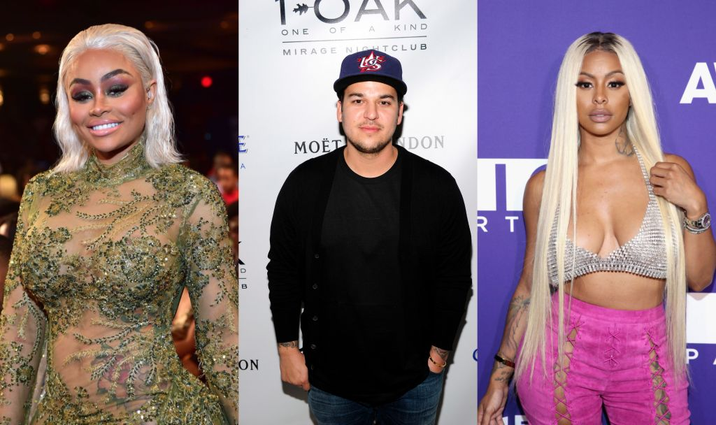Blac Chyna, Rob Kardashian, Alexis Skyy