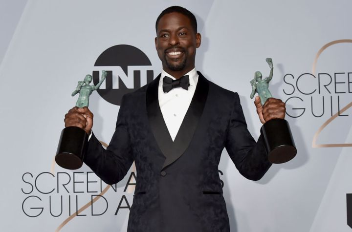 """Sterling K Brown, Lead Actor In A Drama Series, """"This Is Us"""""""
