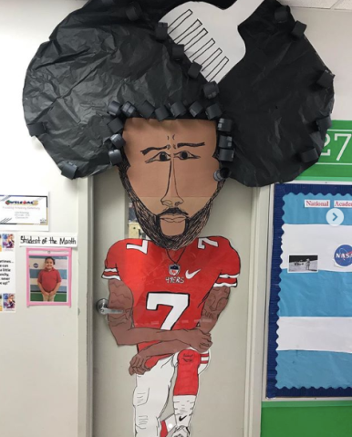 Colin Kaepernick Teacher