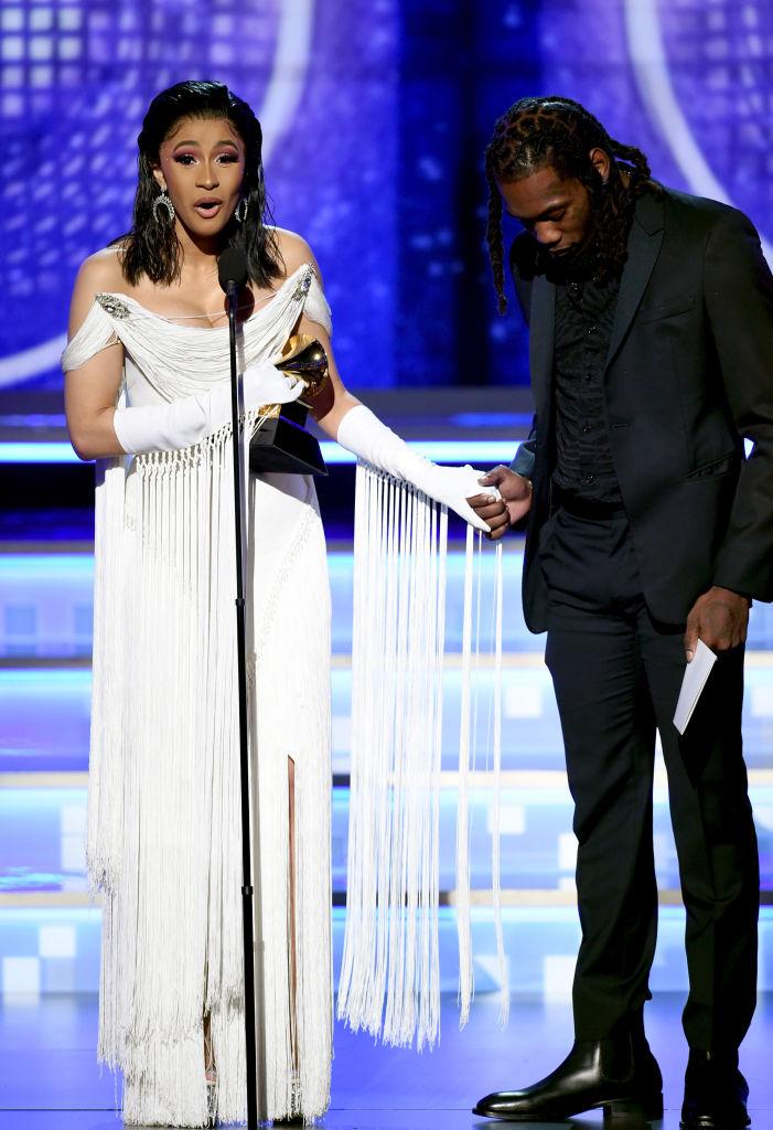 "Cardi B Wins ""Best Rap"" Album"