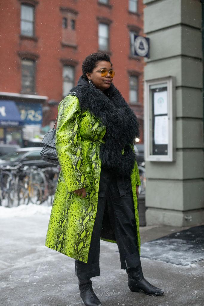 Street Style - New York Fashion Week February 2019 - Day 6