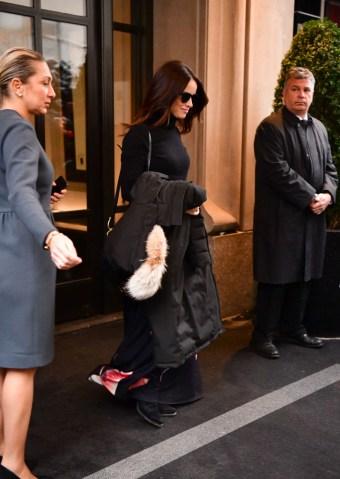 Celebrity Sightings in New York City - February 20, 2019