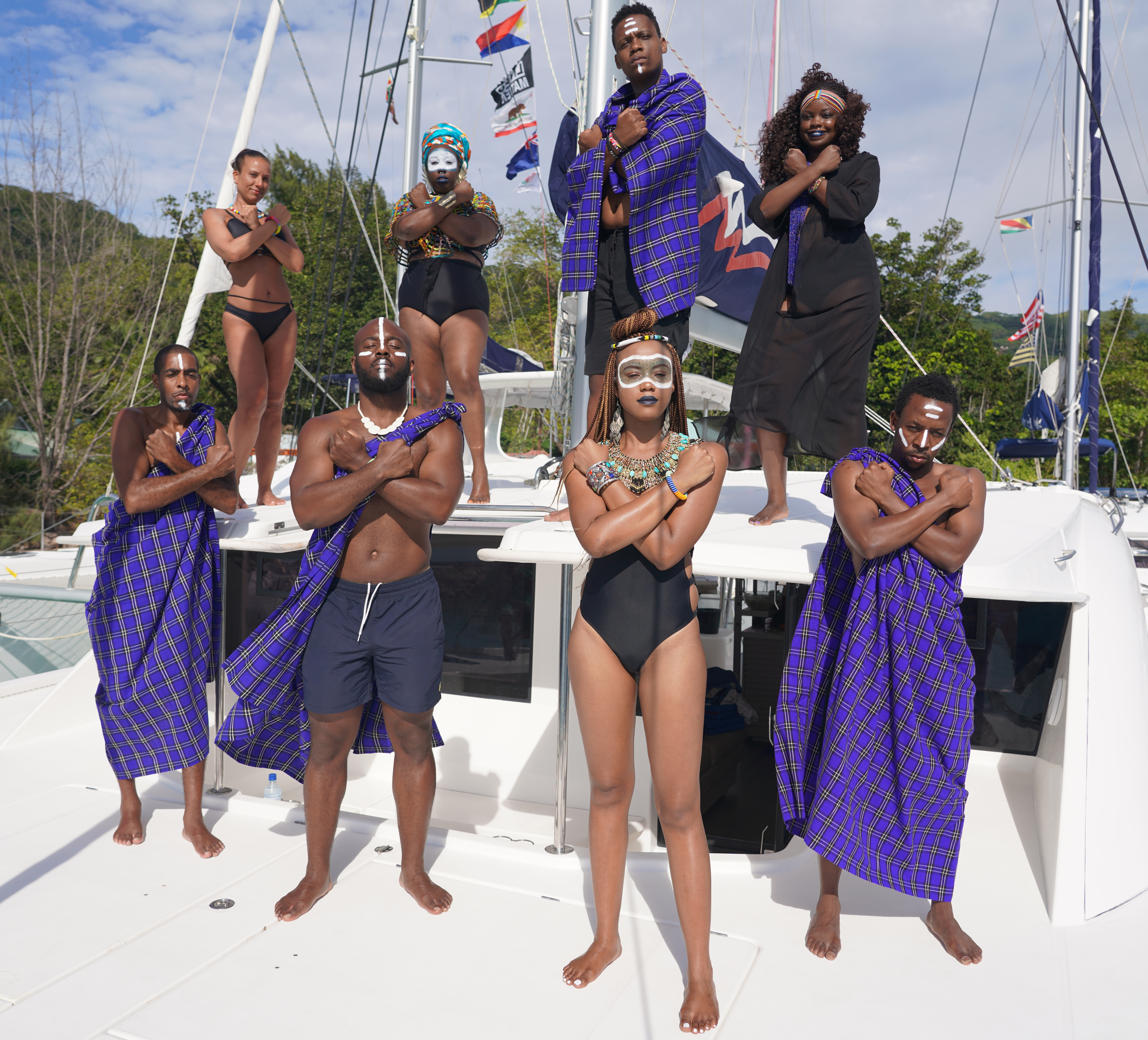 East Africa Yacht Week Promo Photos