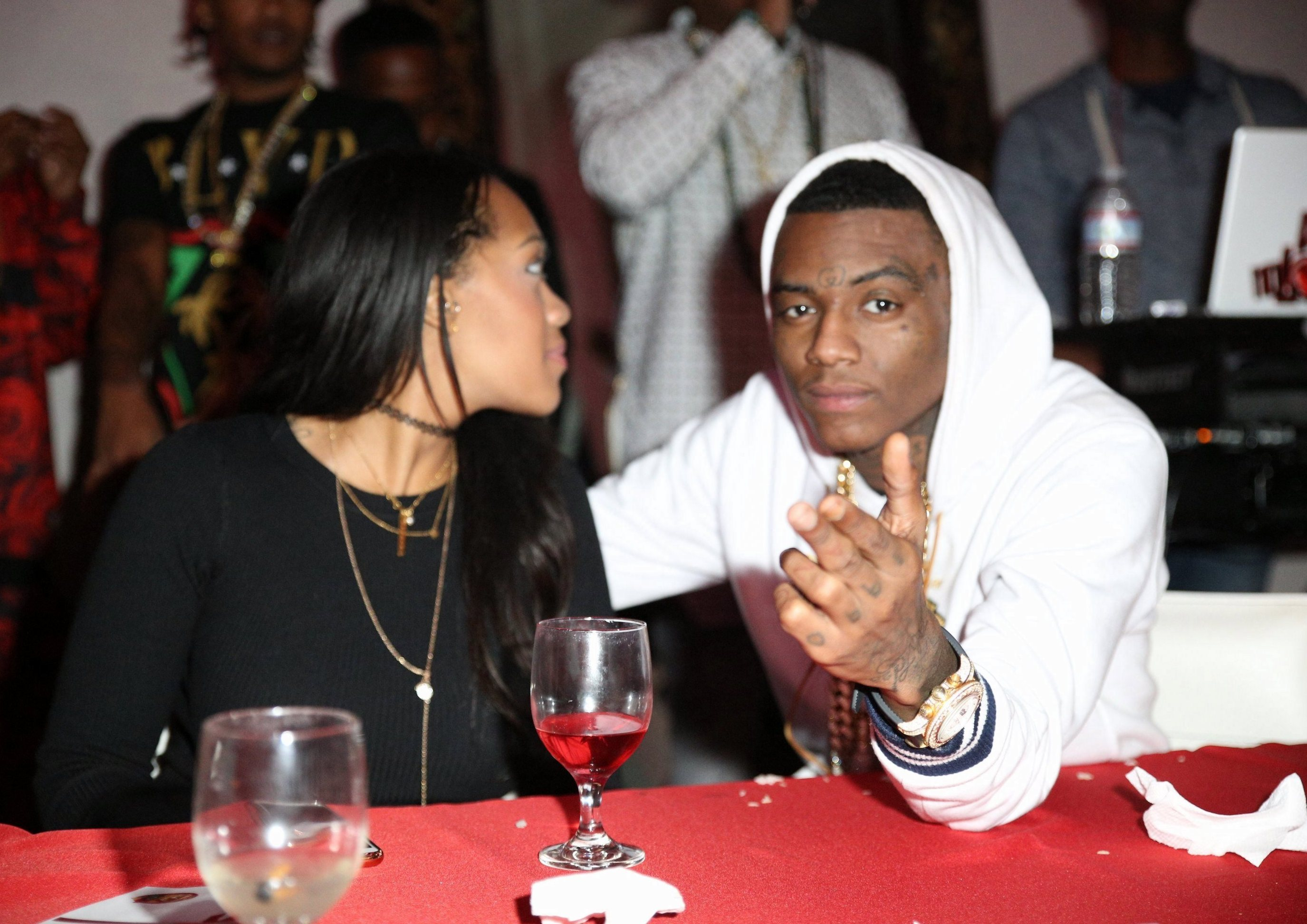 Sean Kingston holds his annual 'Christmas With The Kingston's' party