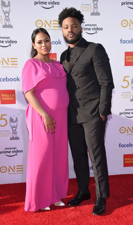 Ryan Coogler and his wife Zinzi Evans